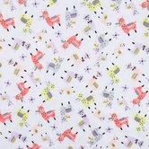 Llama Flannel Fabric