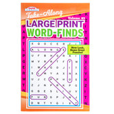 Take-Along Large Print Word Finds