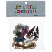 Mini Glitter Sisal Trees