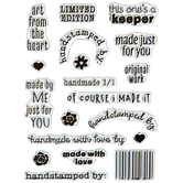 Handmade With Love Clear Stamps