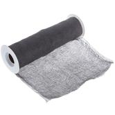 "Dark Gray Cheesecloth Trim - 36"""