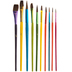 Paint Brushes - 10 Piece Set