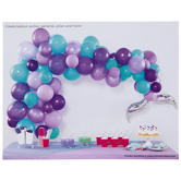Mermaid Tail Balloon Arch Craft Kit