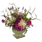 Rose & Berry Arrangement In Pedestal Pot