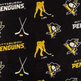 NHL Pittsburgh Penguins Fleece Fabric