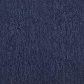 Blue Olefin Herringbone Outdoor Fabric
