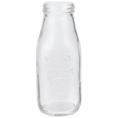 Dairy Cow Glass Milk Bottle