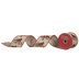 Cardinals On Branch Wired Edge Ribbon - 2 1/2