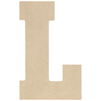 "Wood Letter L - 5"""