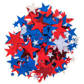 Red, White & Blue Star Confetti