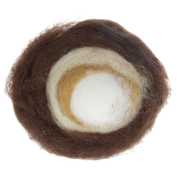 Natural Wool Roving Roll