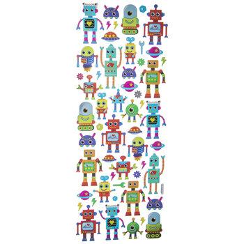 Robot Foil Stickers