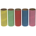 Colored Craft Paper Rolls