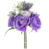 Purple Rose & Lavender Bouquet