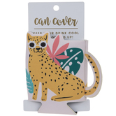 Leopard Can Cooler