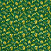 North Dakota State Allover Collegiate Fabric