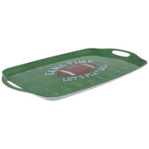 Game Time Football Field Tray