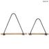 Triangle Metal Wall Shelf Set