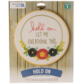 Hold On Embroidery Kit
