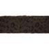 Brown & Black Leopard Faux Fur Trim