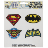 DC Comics Logo Iron-On Appliques