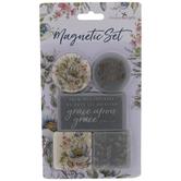 Scripture Floral Magnets
