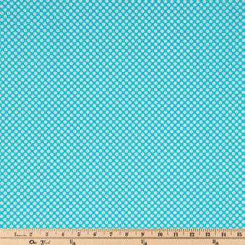 Spotty Negative Cotton Calico Fabric