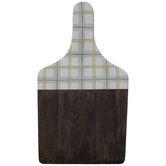 Dolly Parton Plaid Wood Paddle Board