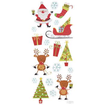 Christmas Pals Glitter Stickers