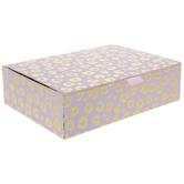 Pink & Gold Leopard Print Box