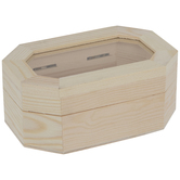 Octagon Wood Box