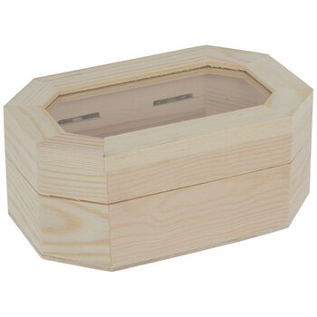 Octagon Wood Box Hobby Lobby 1757749