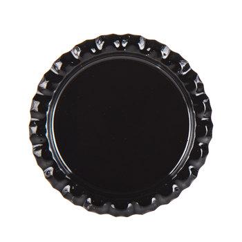 Black Metal Bottle Cap Embellishments