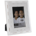 Distressed White Wood Frame - 4