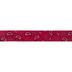 Red Paisley Grosgrain Ribbon - 1 1/2