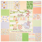 "Little Safari 2 Paper Pack - 12"" x 12"""