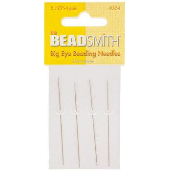 """Big Eye Beading Needles - 2 1/8"""""""