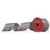 Gray & Champagne Christmas Tree Wired Edge Ribbon - 2 1/2