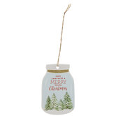 Merry Little Christmas Jar Gift Tags