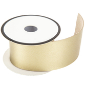 Soft Gold Faux Leather Trim - 2""