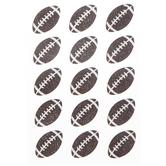 Football Glitter Stickers