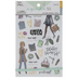 Girl Foil Stickers