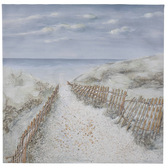 Beach Scene Canvas Wall Decor