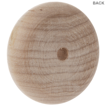 """Wood Toy Wheels With 1/4"""" Hole - 2"""""""