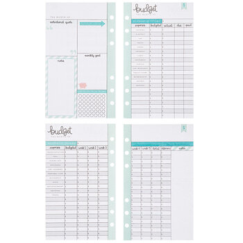 Personal Planner Budget Inserts