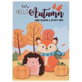Hello Autumn Coloring & Activity Book