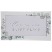 This Is Our Happy Place Wood Wall Decor
