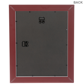 Rustic Red Beveled Wall Frame