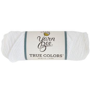 White Yarn Bee True Colors Yarn