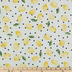 Lemon Dot Duck Cloth Fabric